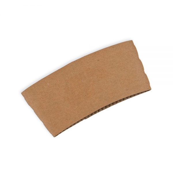 Small Kraft Cup Sleeve
