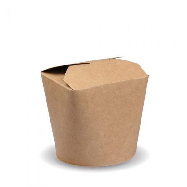 Compostable 500ml Noodle Box 85x85mm Biodegradable