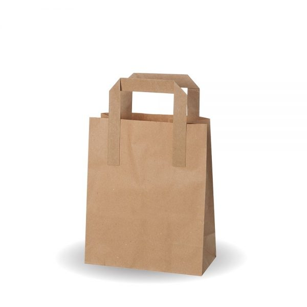 Small Brown Kraft SOS Bag Compostable