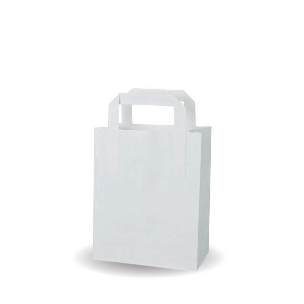 Small White SOS Bag Compostable