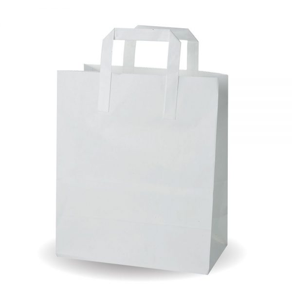 Large White SOS Bag Compostable - Pack 250