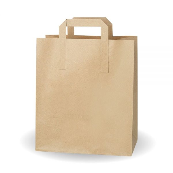 Large Brown Kraft SOS Bag Compostable