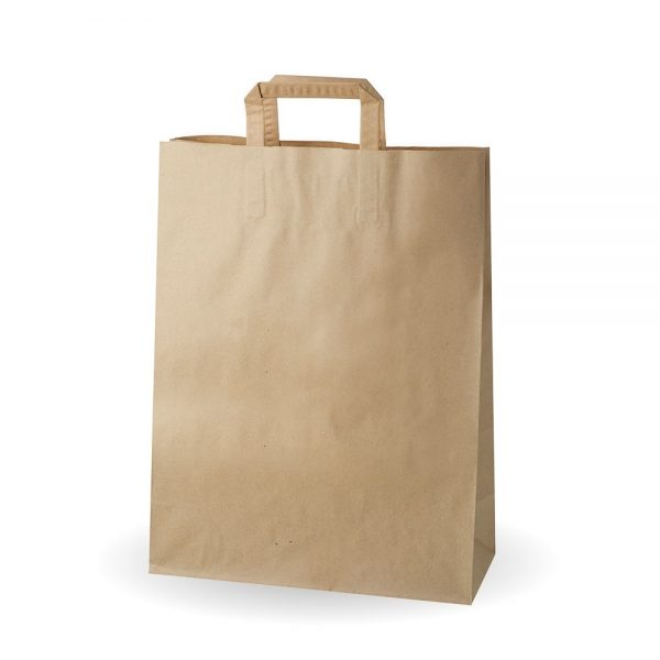 Extra Large Jumbo Brown Kraft SOS Bag Compostable
