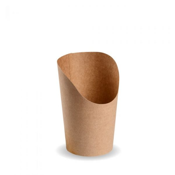 Compostable Kraft Snack / Chip Cup Biodegradable
