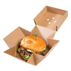 Premium Kraft Burger Box
