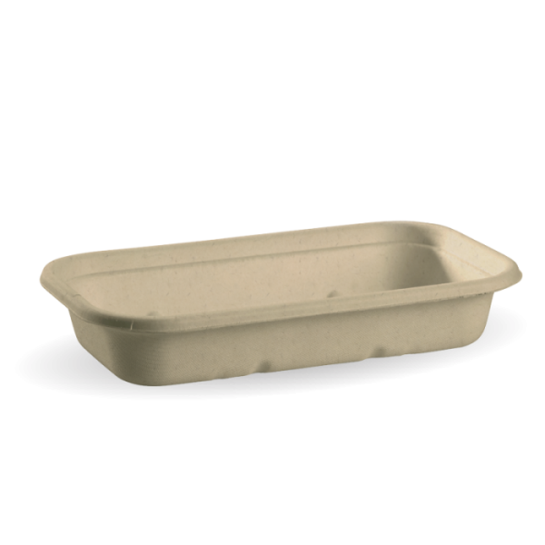 Compostable Natural 750ml Takeaway Container Base Biodegradable