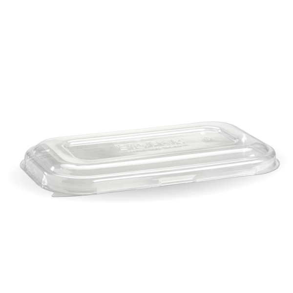 Clear PET Lid For 750ml / 1000ml Takeaway Container Biodegradable