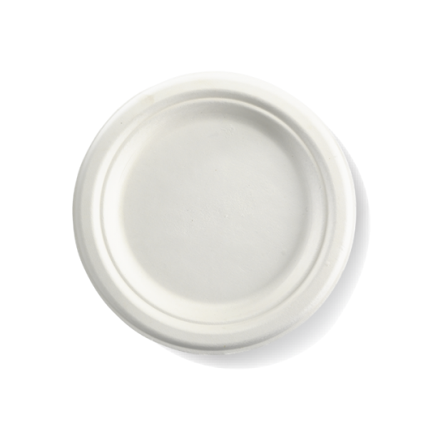 "Compostable Plate 18cm / 7"" Biodegradable"