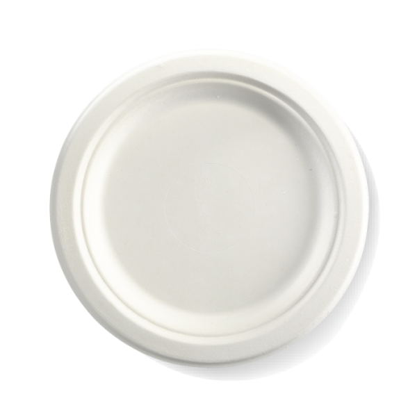 "Compostable Plate 23cm / 9"" Biodegradable"