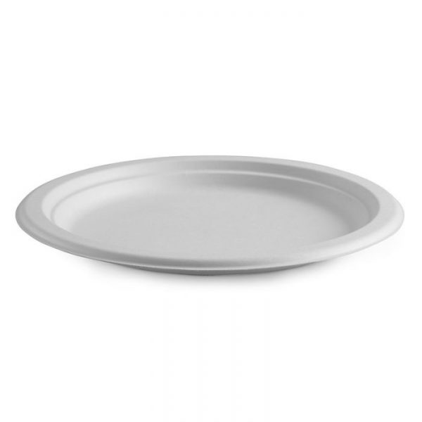 "Compostable Plate 26cm / 10"" Biodegradable"