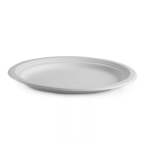 Compostable Oval Plate 32x25cm Biodegradable