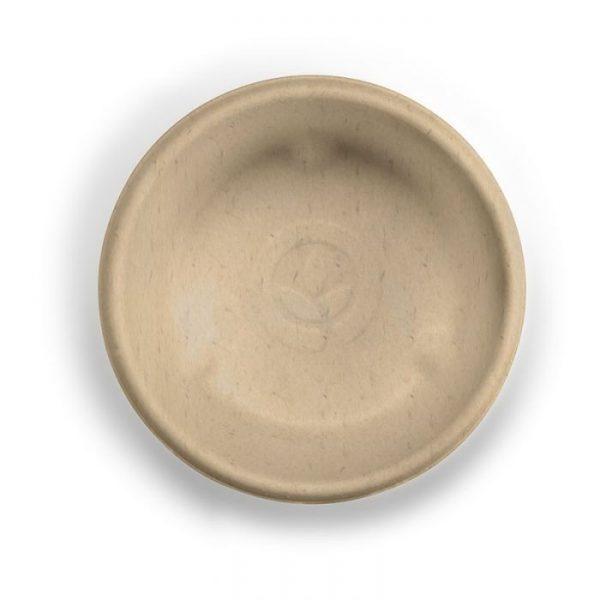 Compostable 2oz Natural 60ml Takeaway Sauce Pot Biodegradable
