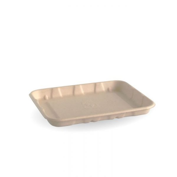 """Compostable 6x5"""" Produce Tray Biodegradable"""