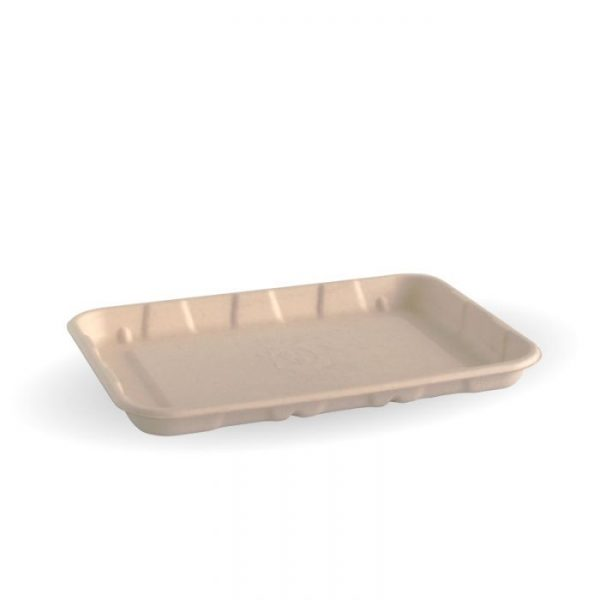 "Compostable 7x5"" Produce Tray Biodegradable"