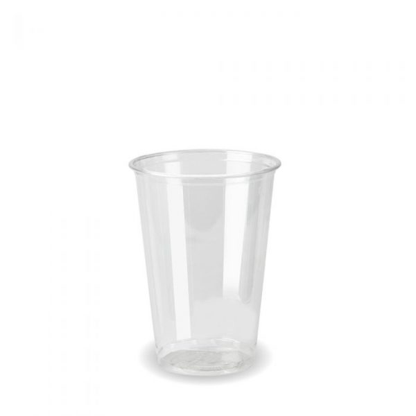 Compostable Clear Disposable 7oz/250ml Cup - Pack 100
