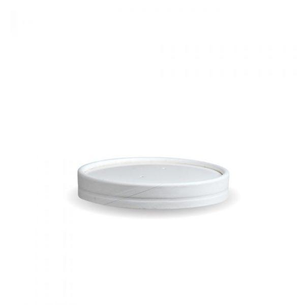 Compostable Lid PE White 8/12oz