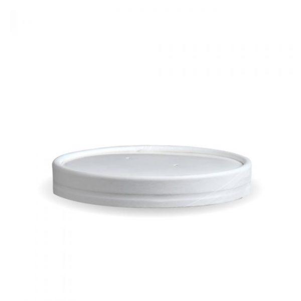 Compostable Lid PE White 32oz
