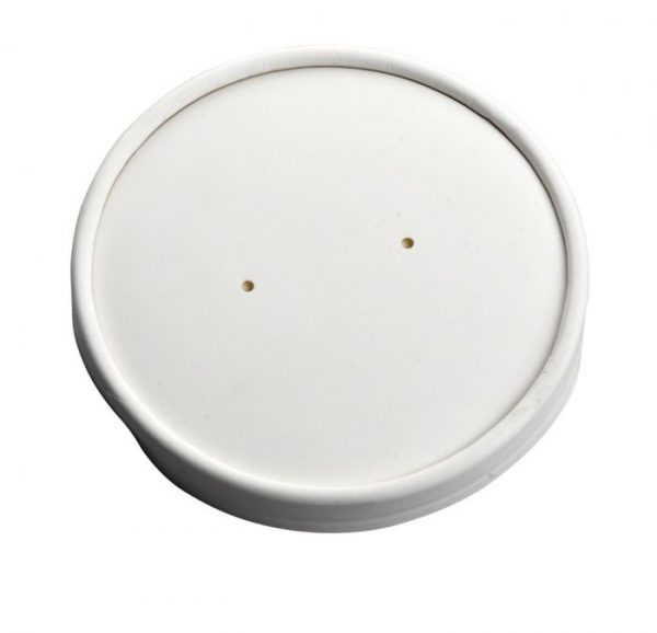 Compostable Lid White 16oz