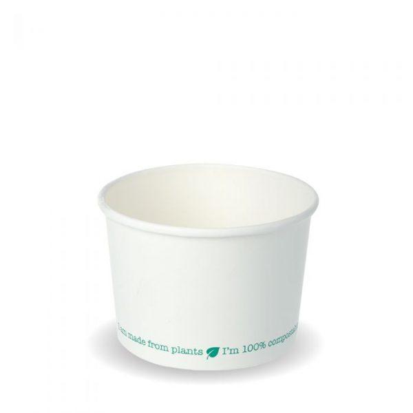 Compostable 8oz Squat Soup Container