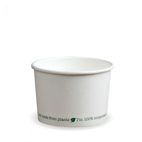 Compostable 12oz Squat Soup Container