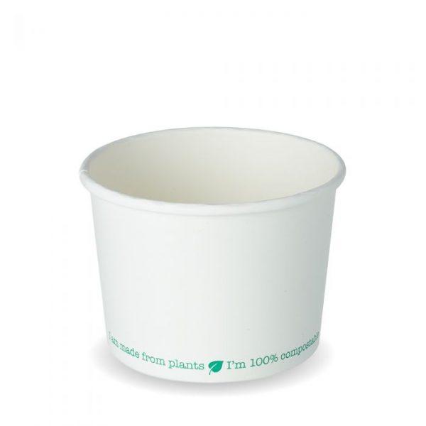 Compostable 16oz Squat Soup Container