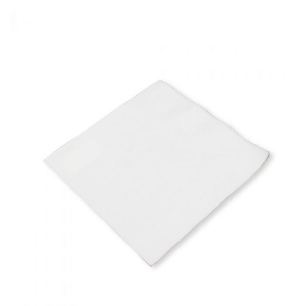 White 2 Ply Napkin 33x33cm Biodegradable