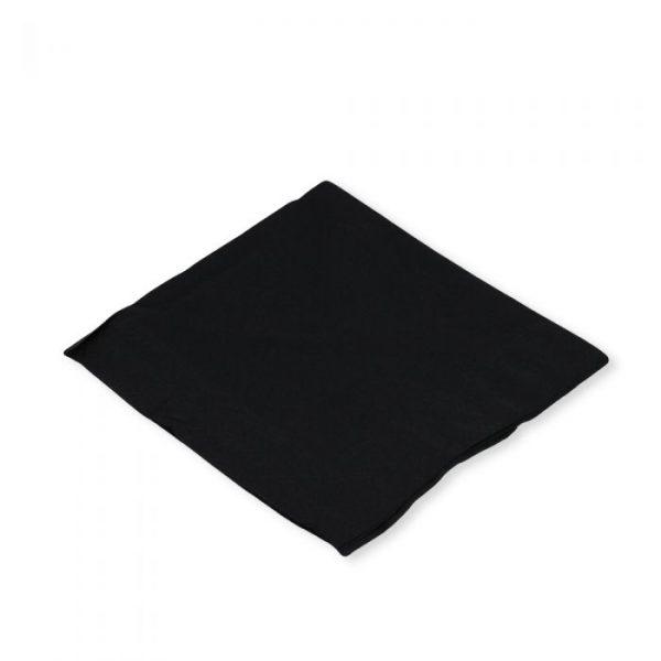 Black 2 Ply Napkin 33x33cm Biodegradable