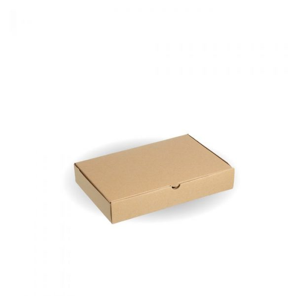 "Compostable 12x8"" Kraft Pizza Box"