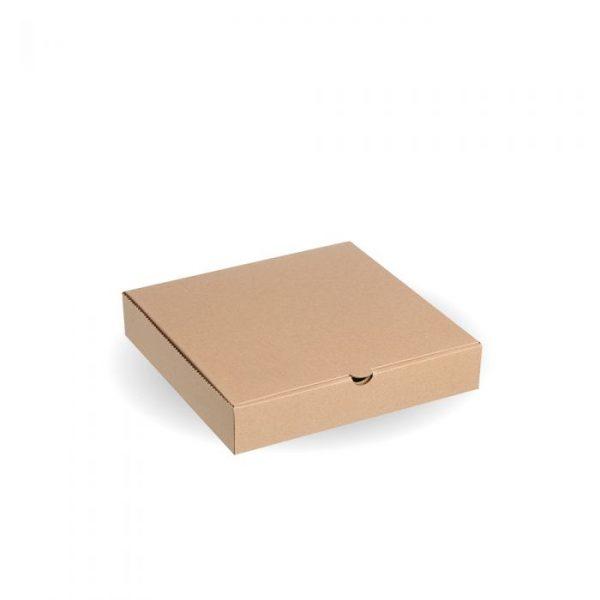 "Compostable 9"" Kraft Pizza Box"