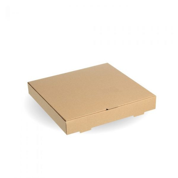 "Compostable 12"" Kraft Pizza Box"