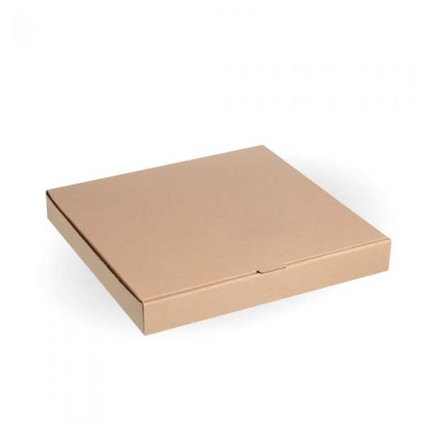 "Compostable 14"" Kraft Pizza Box"