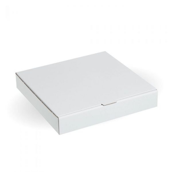 "Compostable 10"" White Pizza Box - Pack 100"