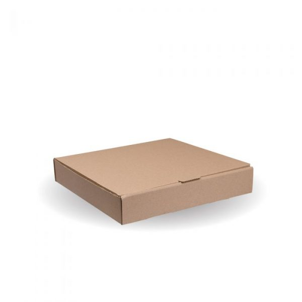 "Compostable 7"" Kraft Pizza Box"