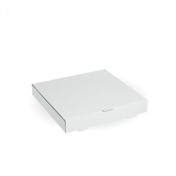 "Compostable 12"" White Pizza Box"