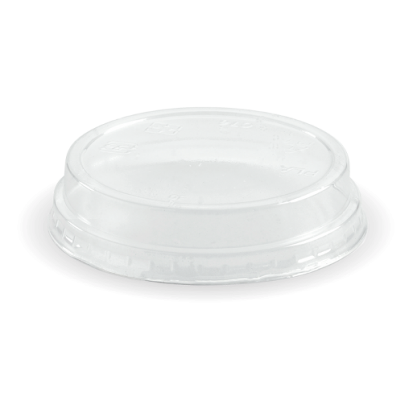 Compostable PLA C-76 Clear Dome Lid No Hole