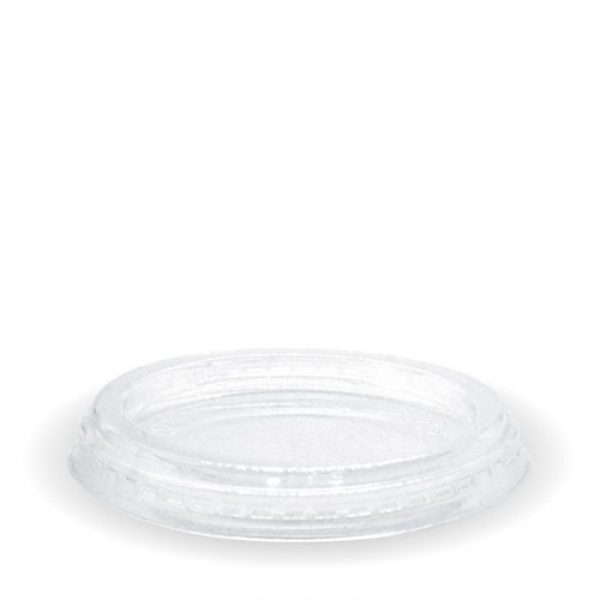 Compostable PLA Clear Lid For 2oz 3oz & 4oz Sauce Pot