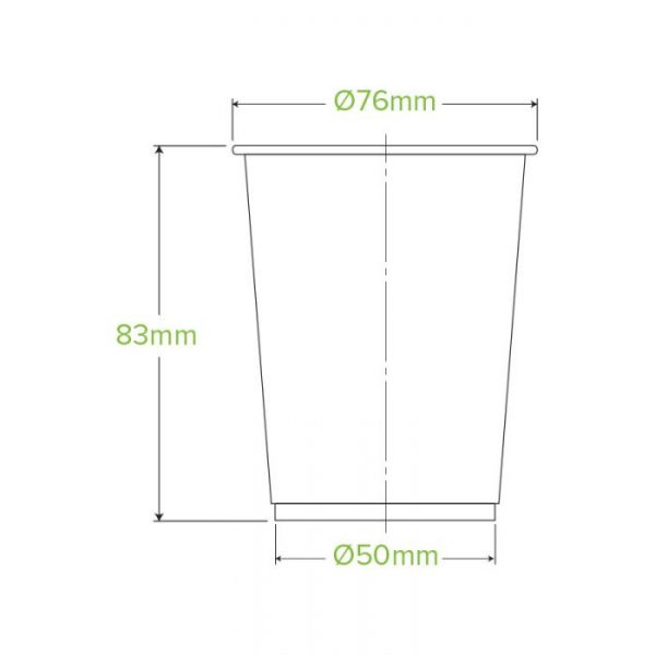 Compostable Clear PLA Tumbler 7oz / 200ml
