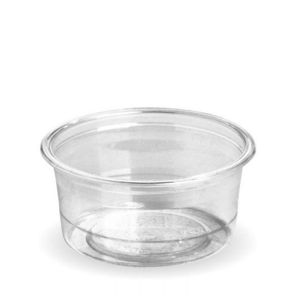 Compostable 3oz PLA Clear Sauce Pot 90ml