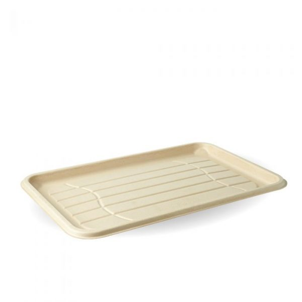 Compostable Large Fibre Platter Tray