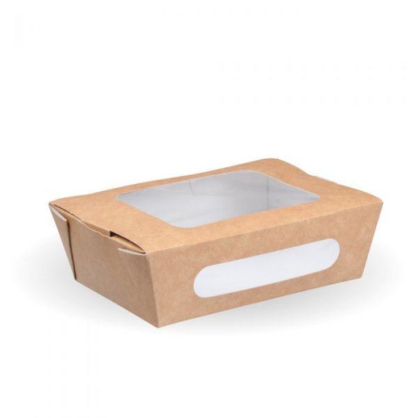 Compostable Small Kraft Salad Box Tuck Top Box