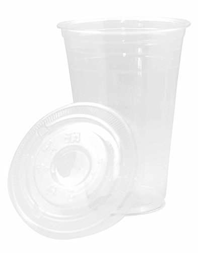 Disposable Takeaway 23oz / 20oz To Line CE Pint With Lid