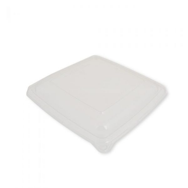 1000/1400ml PET Lid To Fit Square Food Trays
