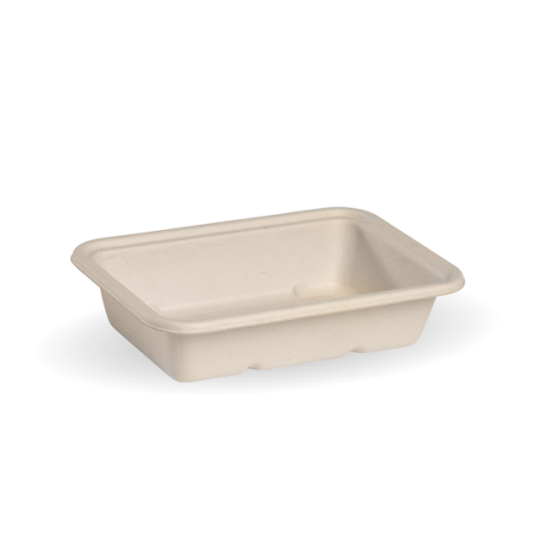 Compostable Natural 500ml Takeaway Container Base Biodegradable