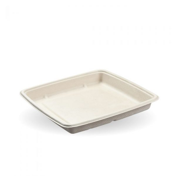 1000ml Natural Pac Square Food Trays
