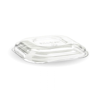 Clear PET Lid For 280, 480 and 630ml Takeaway Container Biodegradable