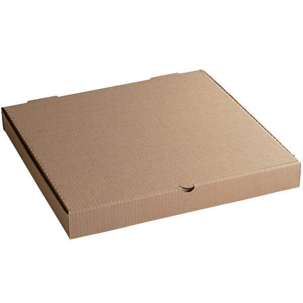 """Compostable 18"""" Kraft Pizza Box - Pack 50"""