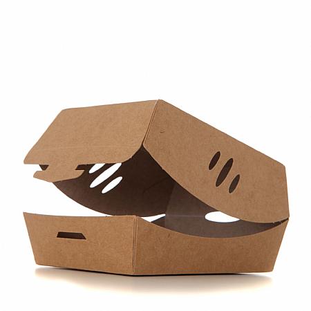 Contora Burger Clamshell Box Small 30oz 110 x 100 x 70mm - Pack 340