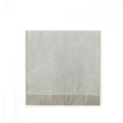 """Medium 8"""" White Strung Compostable Paper Bags - Pack 1,000"""
