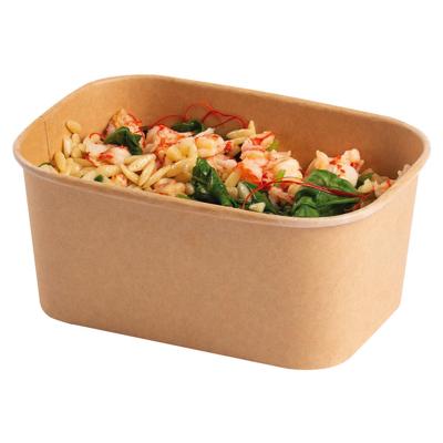 1000ml Stagione Kraft Salad Bowl Microwavable Freezable - Pack 300