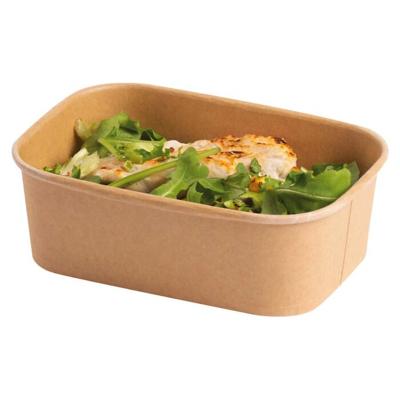 750ml Stagione Kraft Salad Bowl Microwavable Freezable - Pack 300